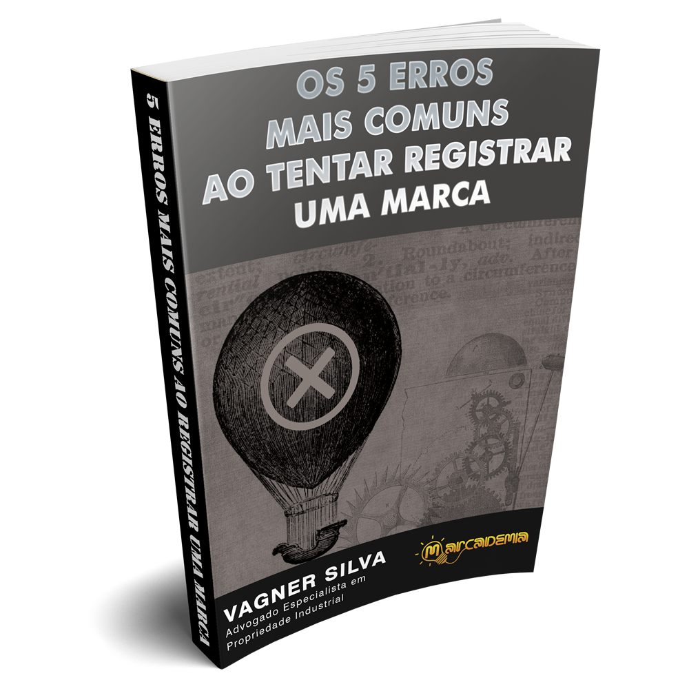 e-Book Os 5 Erros Mais Comuns ao Tentar Registrar uma Marca